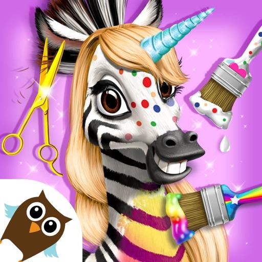 Jungle Animal Hair Salon 2-SocialPeta