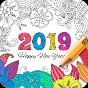 Coloring Book 2019-SocialPeta
