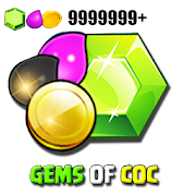 Gems for Clash calc - COC-SocialPeta