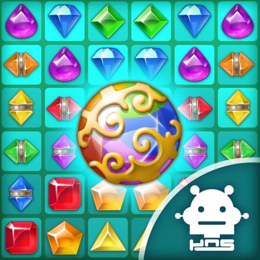 Paradise Jewel: Match-3 Puzzle-SocialPeta