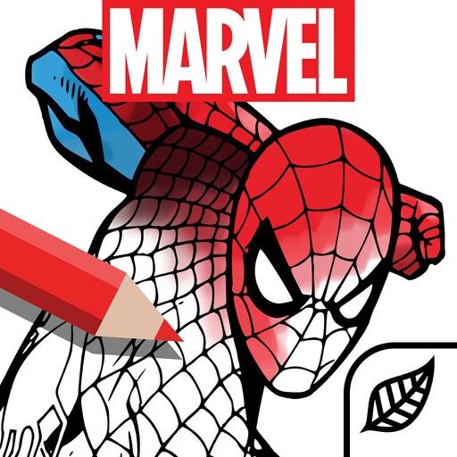 Marvel: Color Your Own-SocialPeta