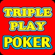 Triple Play Poker-SocialPeta