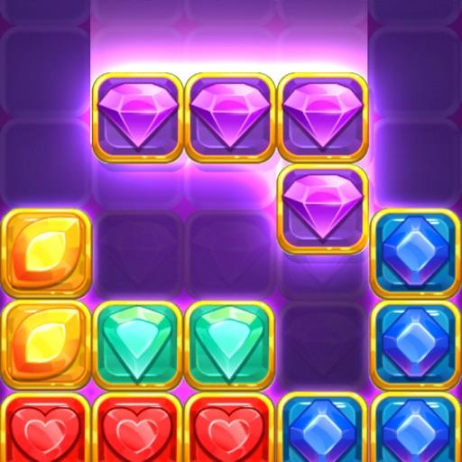 Jewel Blitz: Block Puzzle-SocialPeta