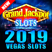 Grand Jackpot Slots - Pop Vegas Casino Free Games-SocialPeta