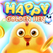 Happy Golden Hen-SocialPeta
