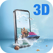 3D Background-SocialPeta