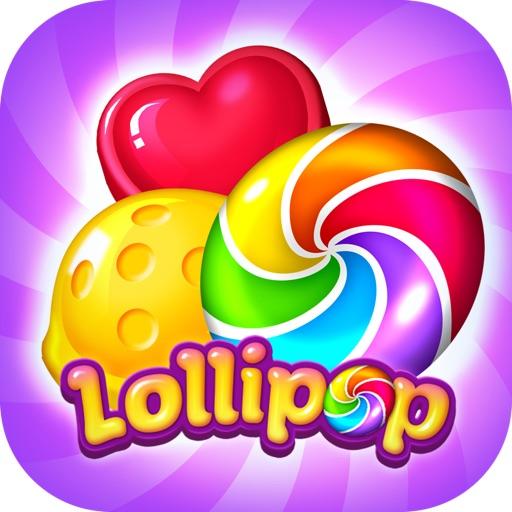 Lollipop: Sweet Taste Match3-SocialPeta