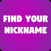 Find Your Nickname-SocialPeta