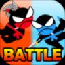 Jumping Ninja Battle - Two Player battle Action-SocialPeta