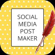 Social Media Post Maker, Planner  Graphic Design-SocialPeta