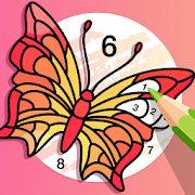 Fun Coloring Paint by Number Color Game for Adults-SocialPeta