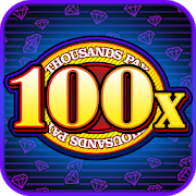 Triple 100x Diamonds - Slot Machine Free-SocialPeta