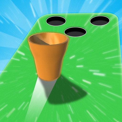 Throw Cups 3D-SocialPeta