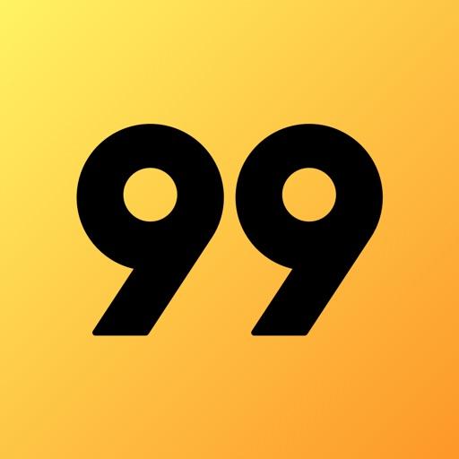 99 - Carro Particular e Táxi-SocialPeta