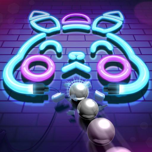 Neon N Balls-SocialPeta