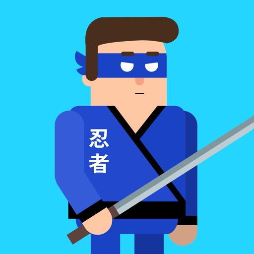 Mr Ninja - Sword Puzzles-SocialPeta