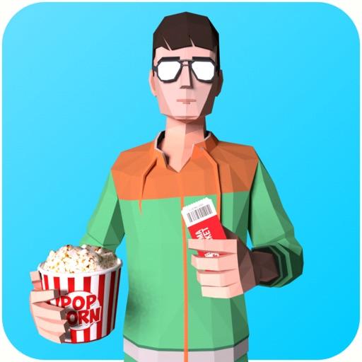 Cinema Cashier 3D-SocialPeta