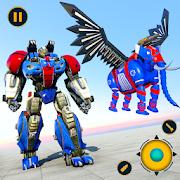Flying Elephant Robot Transform: Flying Robot War-SocialPeta