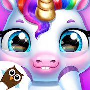 My Baby Unicorn - Virtual Pony Pet Care  Dress Up-SocialPeta