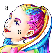 Coloring Fun : Color by Number Games-SocialPeta