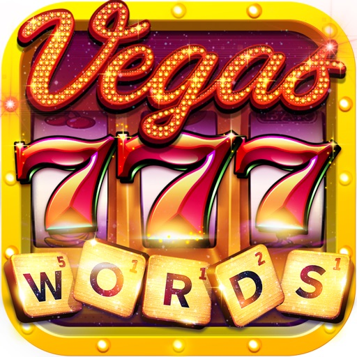 Vegas Downtown Slots & Words-SocialPeta