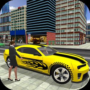 City Taxi Driver 2017: Chained Car Simulator Game-SocialPeta