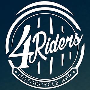 4Riders: Motociclistas y Rodadas-SocialPeta