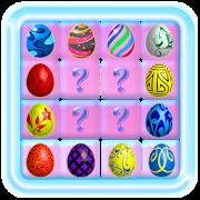 Eggs easter:Pairs memory match-SocialPeta