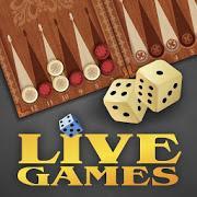 Backgammon LiveGames - live free online game-SocialPeta