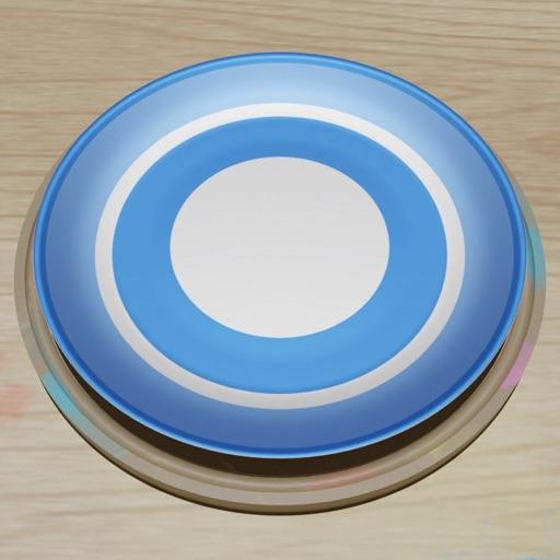 Spiral Plate-SocialPeta