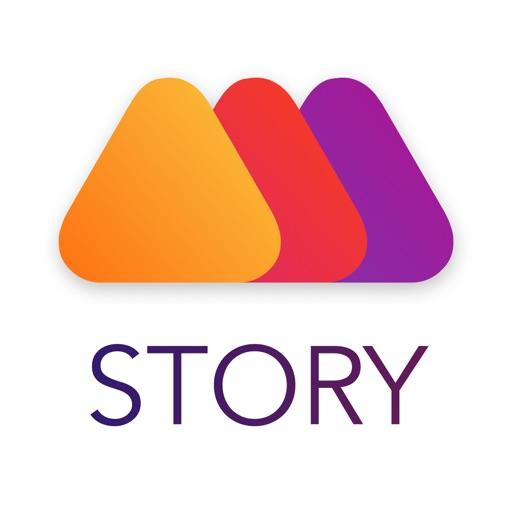 Mouve - Video Story Editor-SocialPeta