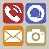 Simplified Home Screen - Launcher and Easy Icons-SocialPeta