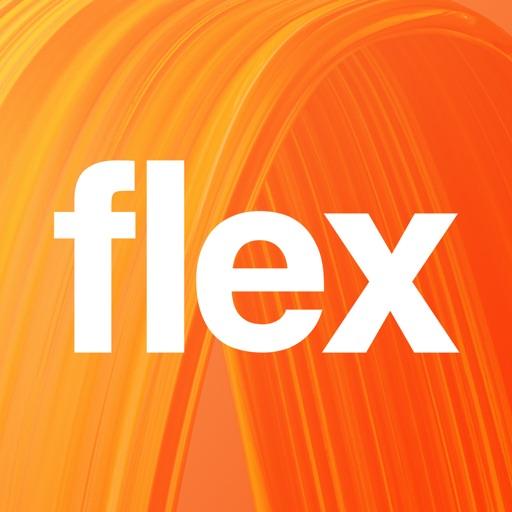 Orange Flex-SocialPeta