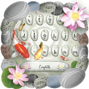 Koi Fish Keyboard Theme-SocialPeta