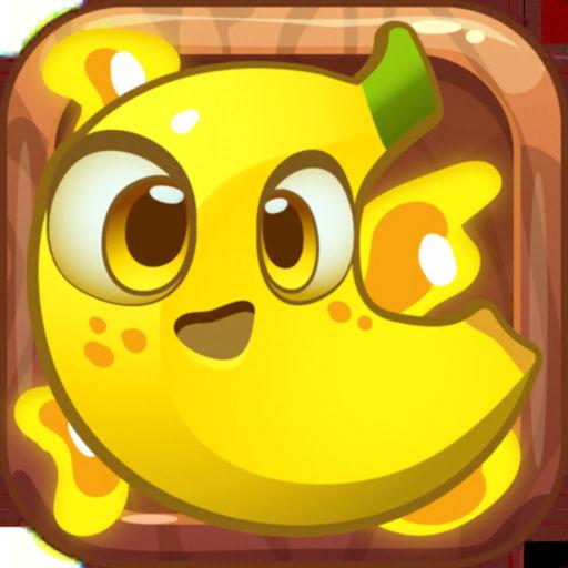 Banana in the Jungle Match 3-SocialPeta