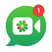 ICQ: Messages, Group chats  Video Calls-SocialPeta