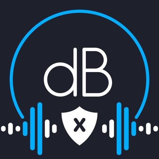 Decibel X - dB Soundmeter, SLM-SocialPeta