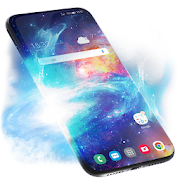 Stardust Live Wallpaper  Animated Keyboard-SocialPeta