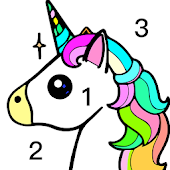 Paint By Number-FreeFun Coloring BookPuzzle Game-SocialPeta