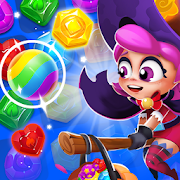 Jewel Witch -- Magical Blast Free Puzzle Game-SocialPeta
