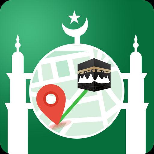 Muslim: Qibla Compass, Quran-SocialPeta