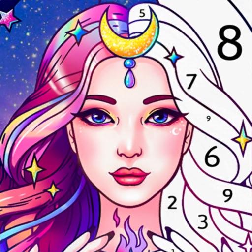 Coloren - Color by Number-SocialPeta