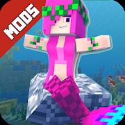 Mermaid Mod for MCPE-SocialPeta