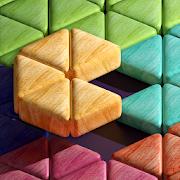 Block Puzzle Triangle Wood - Classic free puzzle-SocialPeta