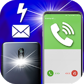 Flash Alerts - flash on call and sms notification-SocialPeta