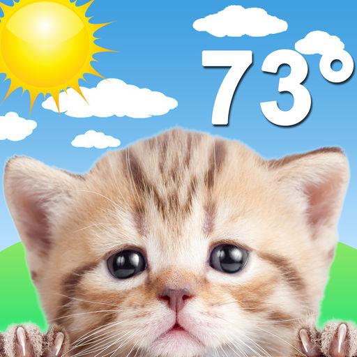 Weather Kitty: Forecast & Cats-SocialPeta