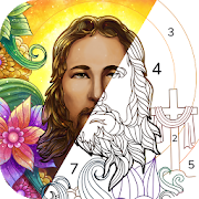 Bible Coloring - Paint by Number, Free Bible Games-SocialPeta