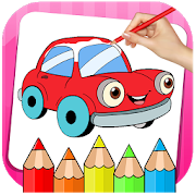 Cars Coloring Book  Drawing Book-SocialPeta