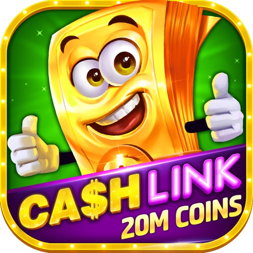 Slots-Cash Link Slot Machines!-SocialPeta