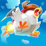 Jetpack Chicken Jump-SocialPeta